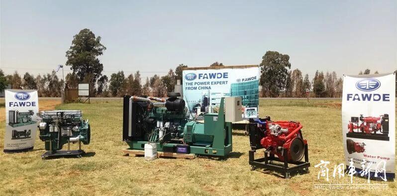 南非电信基站用发动机将统一替换为锡柴康威4DX柴油机