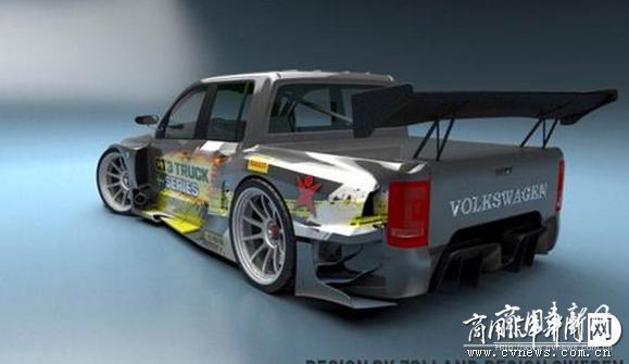皮卡也疯狂 大众Amarok变身GT3概念赛车