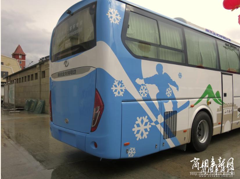 无惧严寒挑战  南京金龙纯电客车交付崇礼