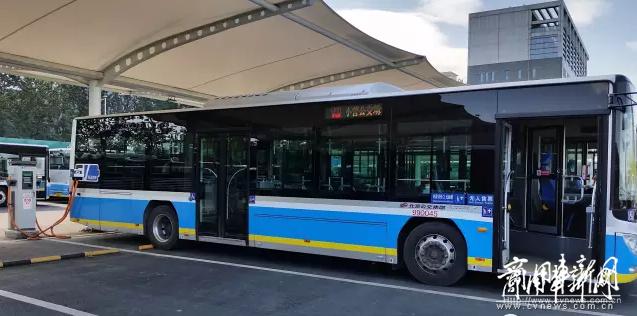 北京最大电动公交充电站成就公交巴士完美蜕变