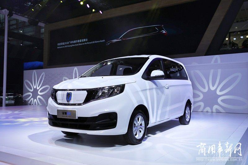 领坤EV亮相广州车展 华晨雷诺开启新能源定制化新时代