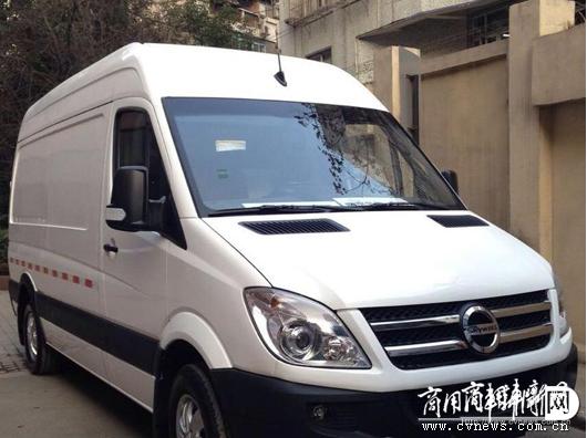 南京金龙纯电动轻客助力绿色城市物流