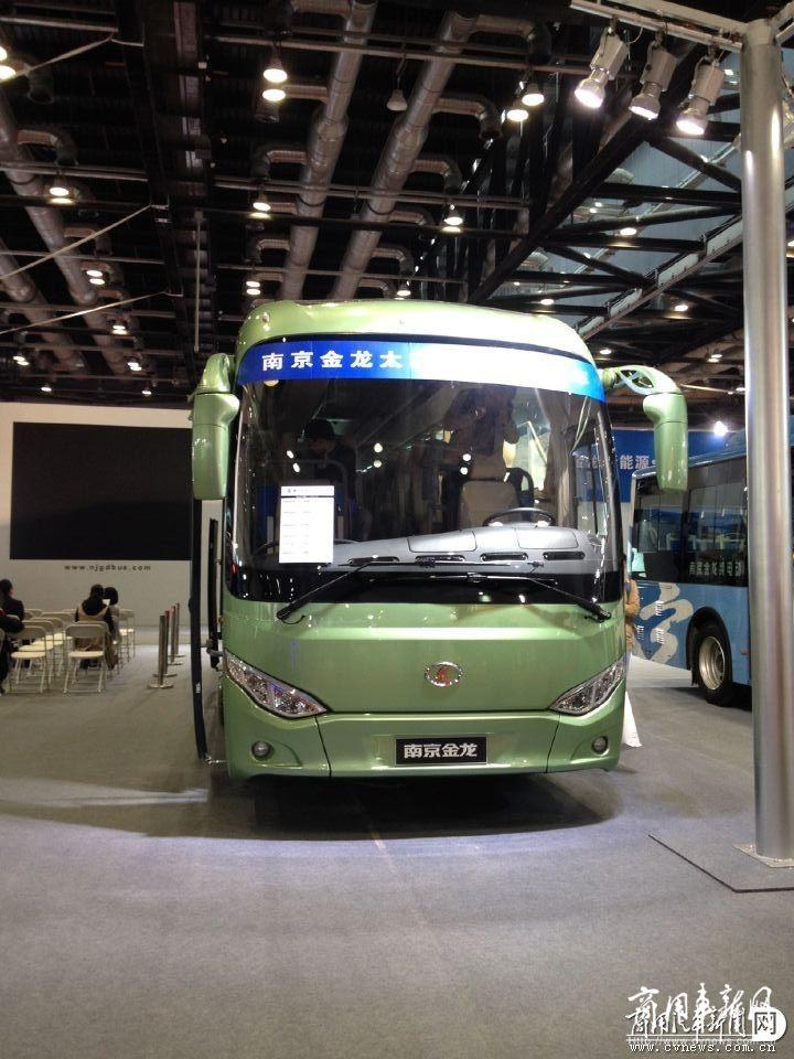 南京金龙推出太阳能电动客车