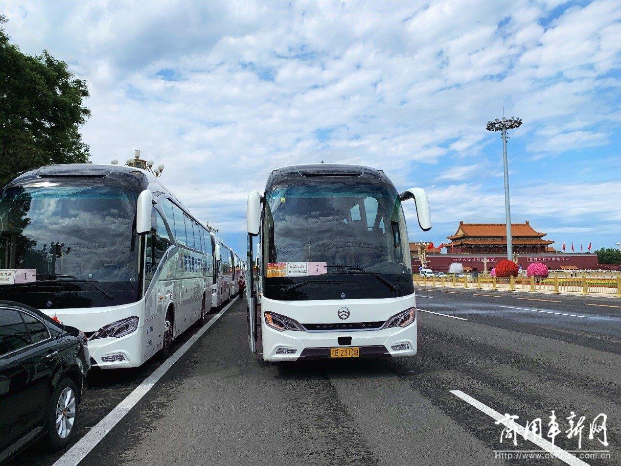 """金旅客车:两会服务的行业主力  """"一带一路""""上的金字品牌"""