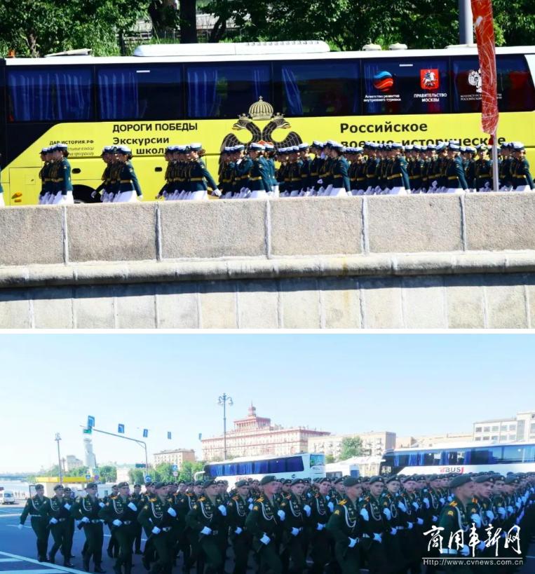 高光时刻!120辆宇通客车硬核护航俄罗斯卫国战争胜利75周年阅兵