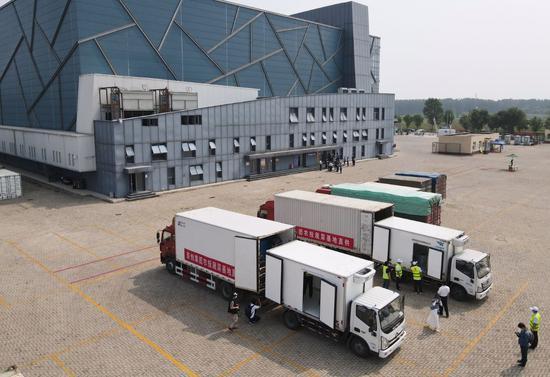 北京启用三大果蔬进京中转调运站,已调运蔬菜超万吨