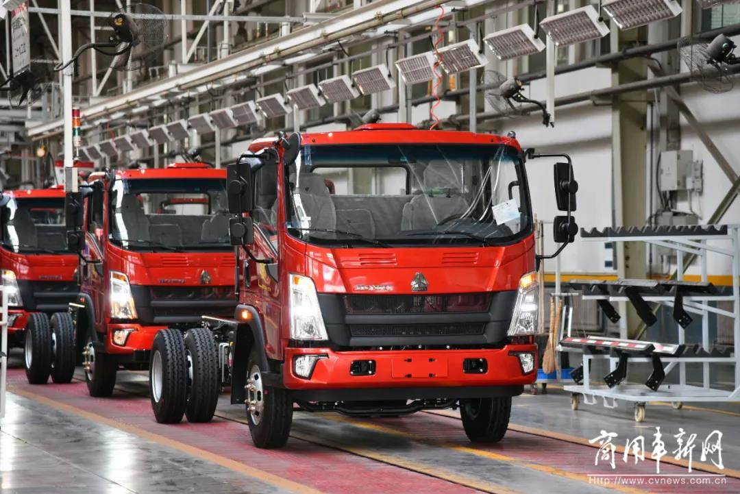 再创新高 中国重汽济南轻卡制造部6月份月产突破18000辆