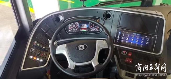 量身定制 森鹏全液晶仪表在中通新N系上批量装车