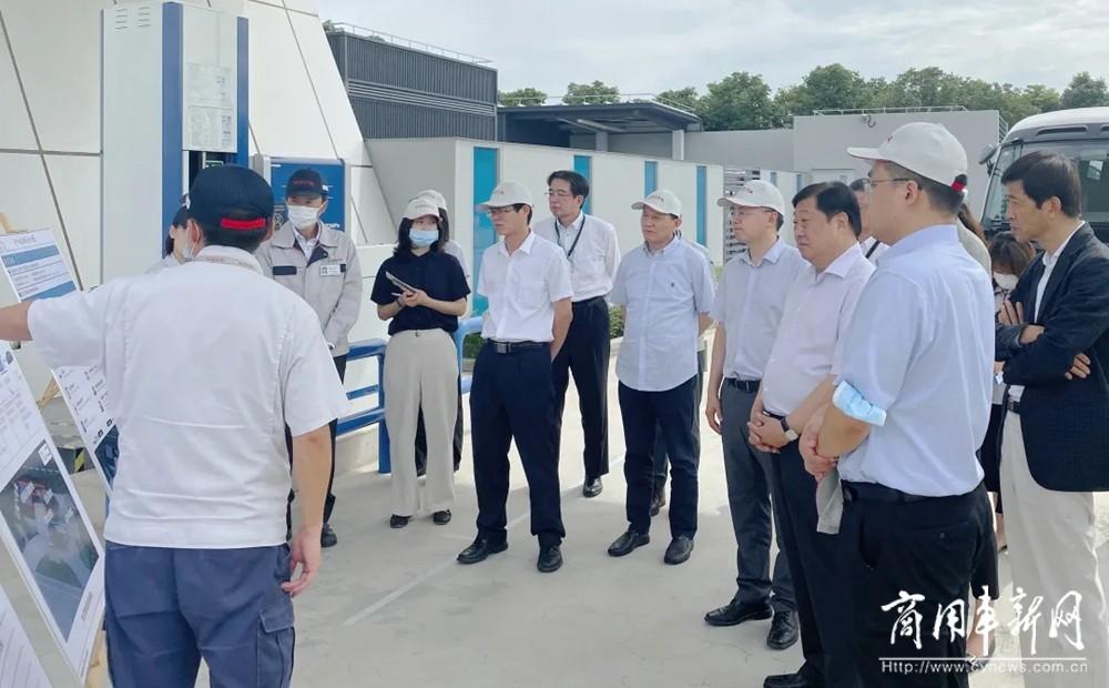 谭旭光到丰田中国研发中心考察交流