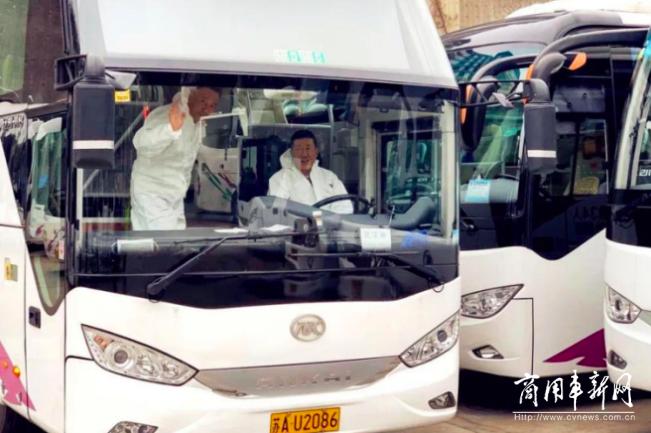 """战疫情,担使命!安凯客车荣获优秀战""""疫""""行动力企业称号"""