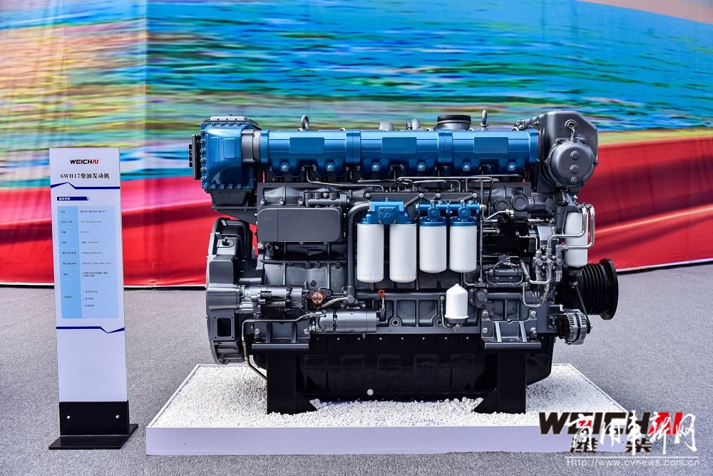 世界首款突破50%热效率的商业化柴油机落地!潍柴动力再一次让世界刮目相看
