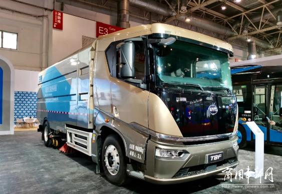 技术为王 创新引领 比亚迪商用车多款新品亮相北京道路运输车辆展