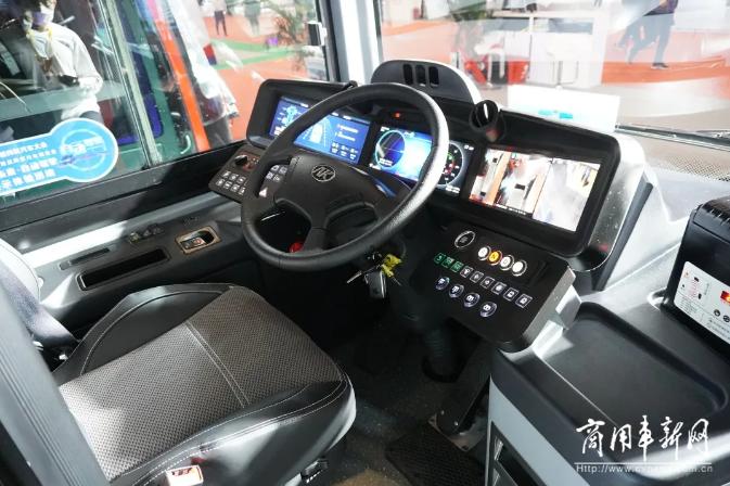 智慧公交+无人驾驶,安凯客车亮相2020北京国际道路运输展