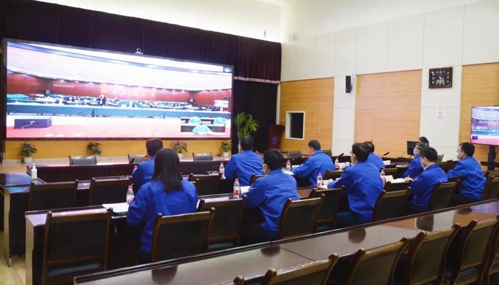 法士特参加省国资委党委述职评议考核会议