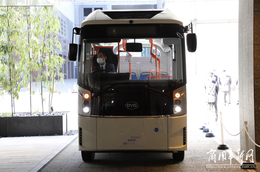 比亚迪携手京阪巴士与关西电力 打造日本首条纯电动公交环线