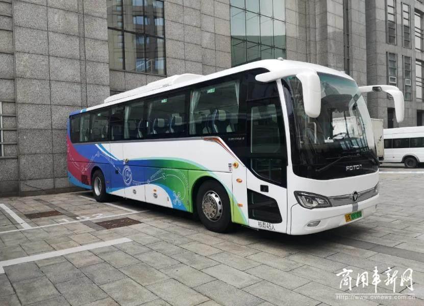 绿色出行 品质之选 福田欧辉纯电动城间客车成功交付天津华科