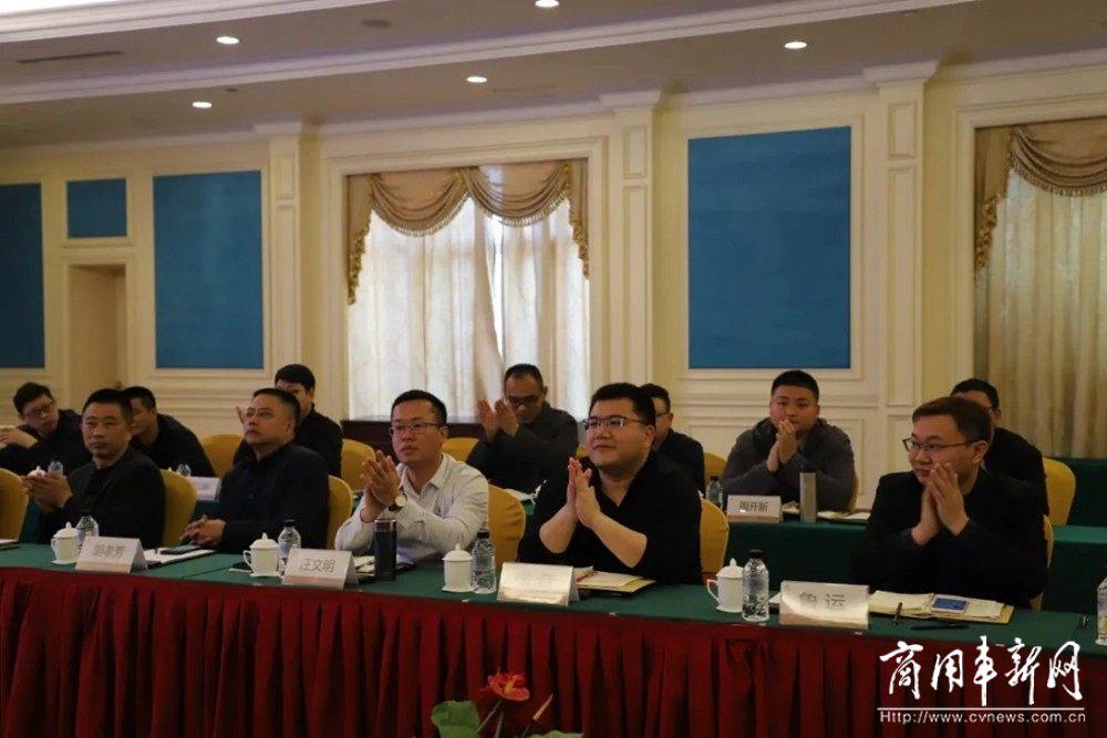 江淮重卡大区、经销商一行到访联合动力