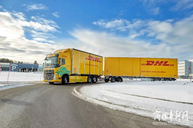 敦豪联手沃尔沃在瑞典测试重型电动卡车