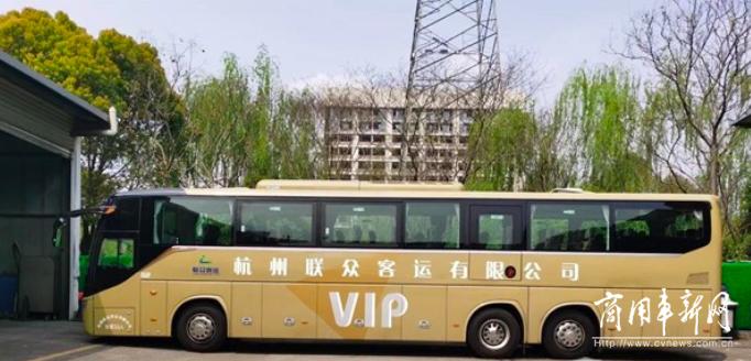 """批量交付!福田欧辉BJ6132豪华客车助力杭州客运发力""""五一黄金周"""""""