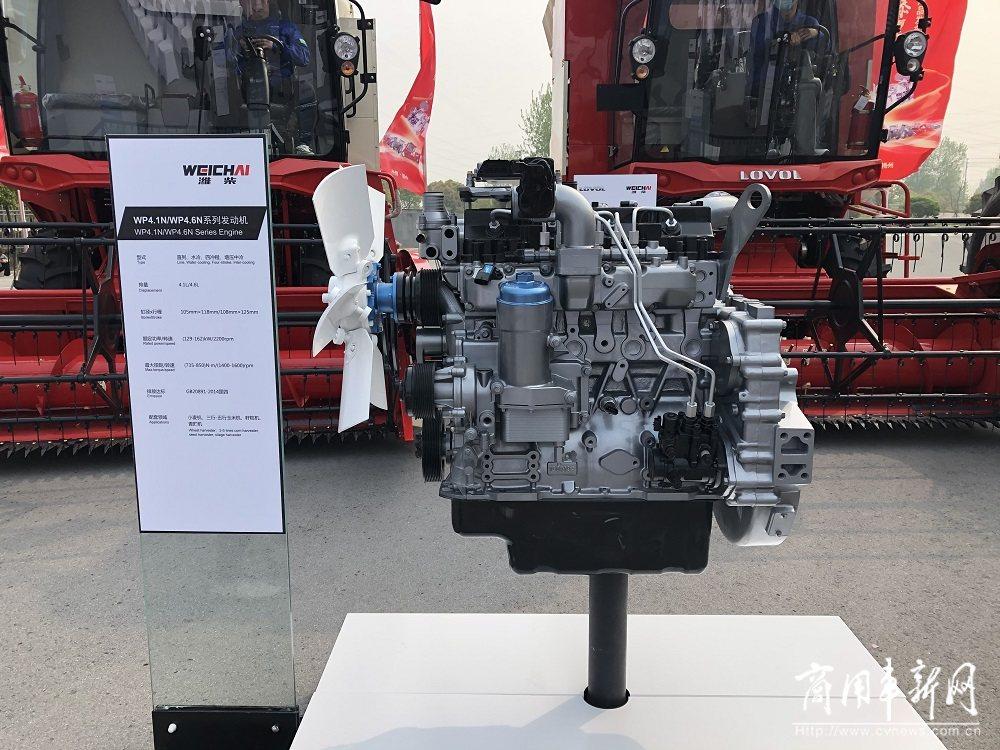 对农机市场志在必得!潍柴雷沃全系配装潍柴发动机