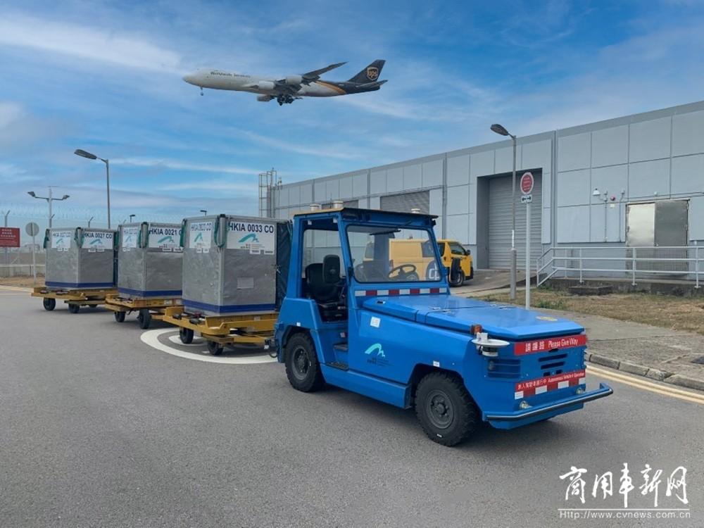 安全可靠,微宏动力助力香港机场智慧物流升级