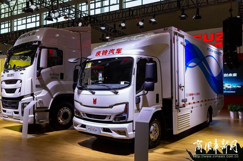 重庆车展看卡车 唯一只有庆铃五十铃