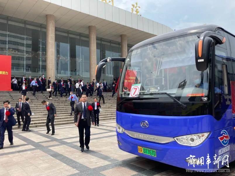 绿色护航!安凯纯电动客车担纲安徽省表彰大会运输主力!