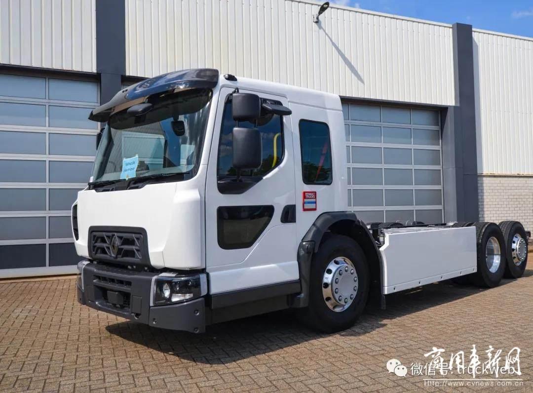 低趴版的Premium 雷诺卡车推出D Wide ZE低入口电动卡车