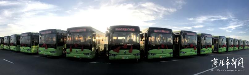 河西走廊上 亚星客车为绿色张掖助力
