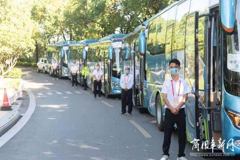 世界遗产大会榕城开幕,金龙客车全程护航