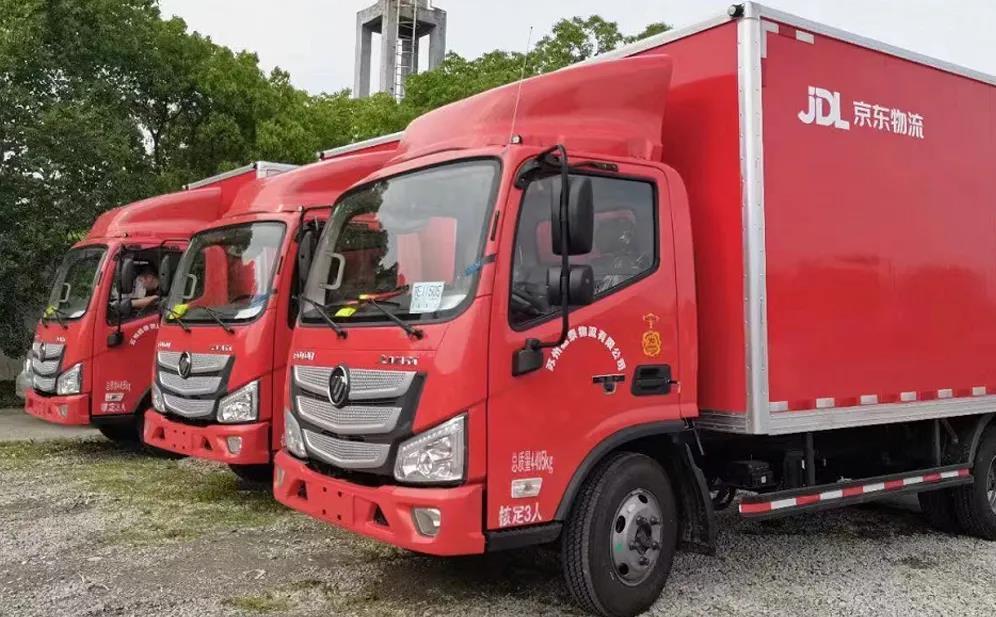 欧马可国六产品助力建轩物流打造绿色、高效服务体系