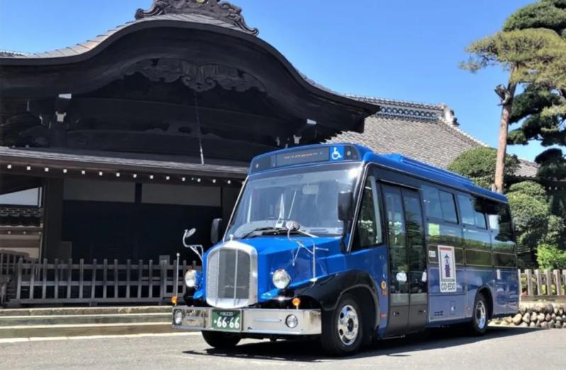 """亚星复古式观光巴士 巡游日本""""小江户"""""""