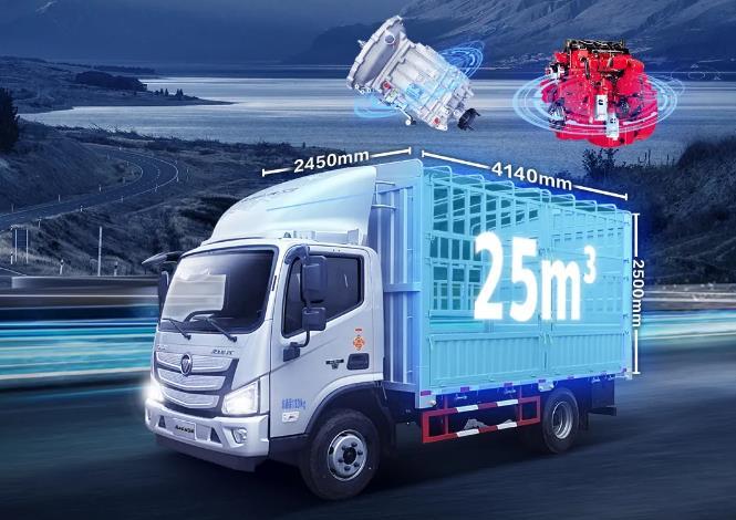 大动力大容积大吨位,欧马可S3高效山区版全国上市热销中!