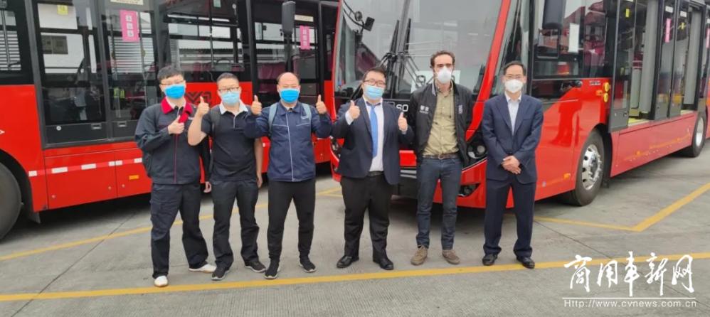 宇通担主角!全球首个纯电动18米高站台BRT项目落地墨西哥