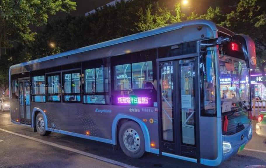 福州:100辆低地板公交车预计月底投运