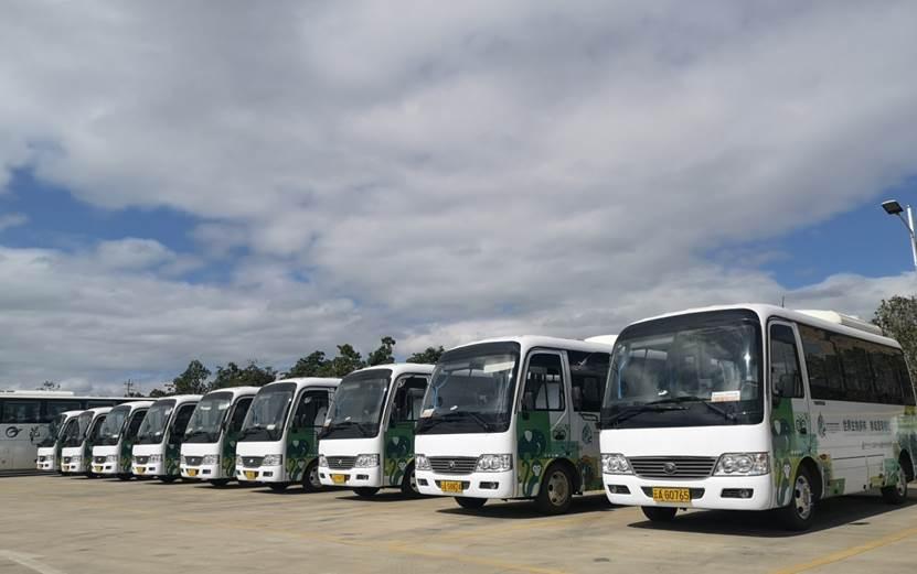 占比超六成!129辆宇通新能源客车服务COP15